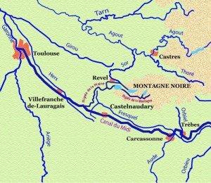 Carte-Canal-du-Midi-Ouest-300x260 kayak